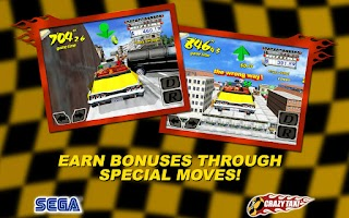 Screenshot of Crazy Taxi Classic