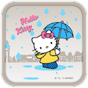 Hello Kitty Rain Falling Theme