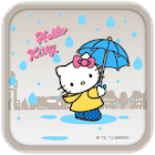 Hello Kitty Rain Falling Theme icon