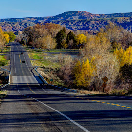 It's Not About the Destination, but the Journey by McKinzea Grant - Landscapes Travel ( hdr, journey, experience, road, spring )