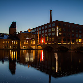 Tampere in the evening light ... by Sakari Partio - City,  Street & Park  Vistas