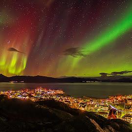 KP 5 by Rune Nilssen - Landscapes Starscapes ( k3, northlicht, aurora borealis, pentax, europ, nordland, northern light, nordlys, norway, lodingen )