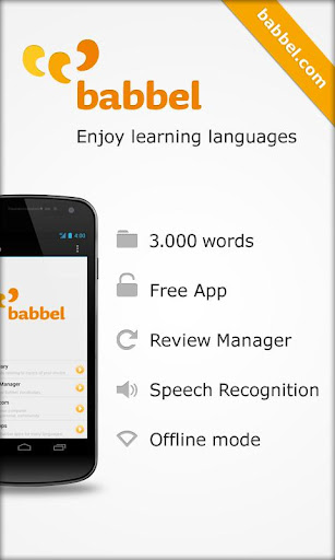 learn-spanish-with-babbel-com for android screenshot