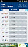 Screenshot of Copa Libertadores 2012