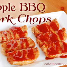 Apple BBQ Pork Chops