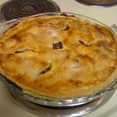 Blue Ribbon Wild Blueberry Pie