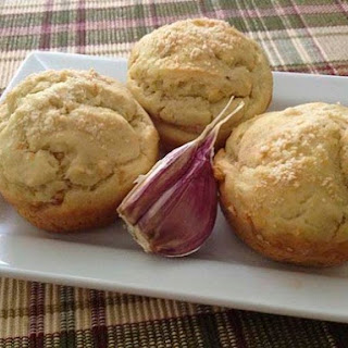 Gluten-Free Garlic Onion Muffins