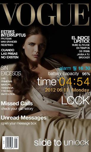 Magazine Go locker WVGA