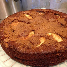 Cinnamon Honey Apple Torte