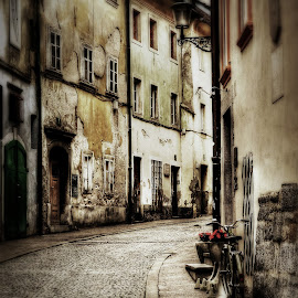 From the street... by Dimitar Balyamski - City,  Street & Park  Street Scenes (  )