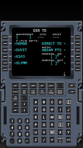 Virtual CDU A318-A320 - screenshot