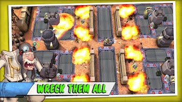 Screenshot of Tank Battles