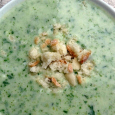 Spinach and Yoghurt Soup