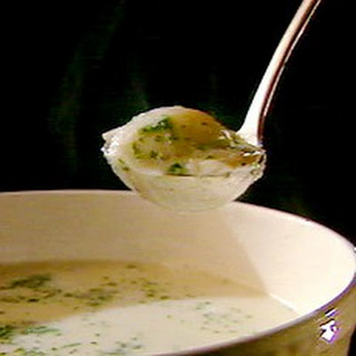 Smoked Haddock Chowder with Poached Eggs