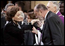 Suzanne and Chirac