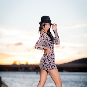 By the Lake at Sunset by Loi Huynh - People Fashion ( lnh photography, michelle aberlardo, shalini huntman )