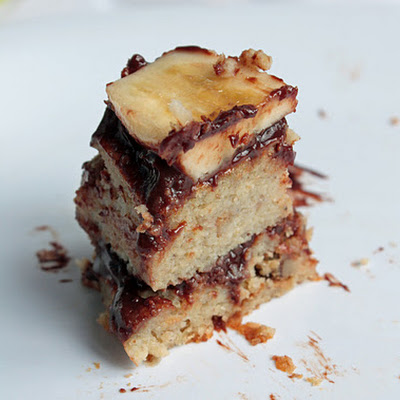 """Bananas Gone Nuts"" Garbanzo Cake (Gluten Free)"