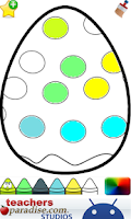 Screenshot of Easter Eggs Coloring