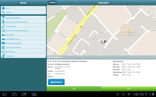 Screenshot of Gesund & Fit
