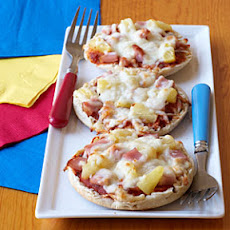 Canadian Bacon and Pineapple Mini Pizzas