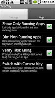 Screenshot of Task Tray - Beta