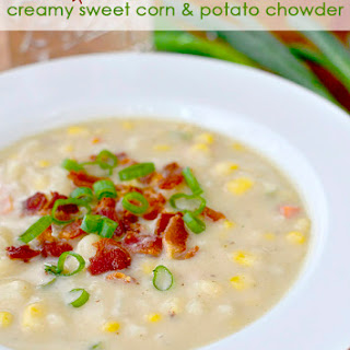 Creamy (No Cream!) Sweet Corn and Potato Chowder
