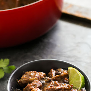Santa Fe Pork and Black Bean Stew