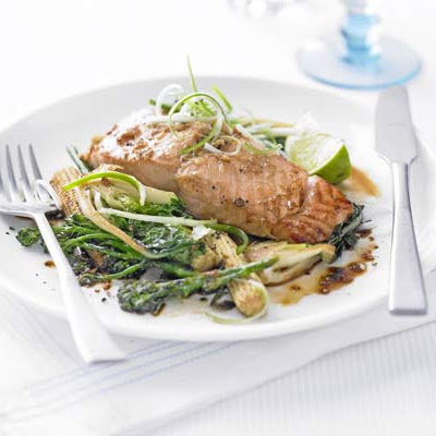 Lime & Ginger Salmon