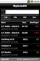 Screenshot of Finance
