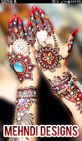 Screenshot of Mehndi Designs