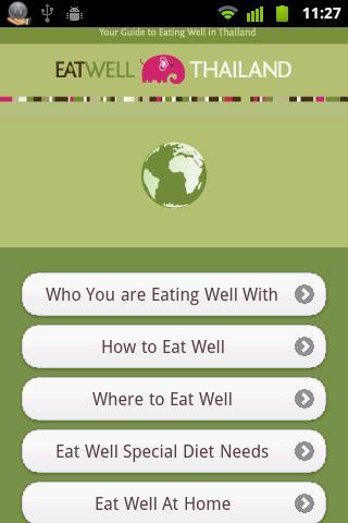 Eat Well Thailand