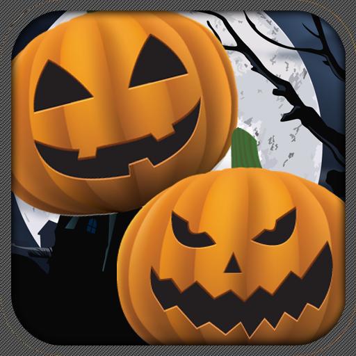 Halloween Pumpkin Match 3 Game LOGO-APP點子
