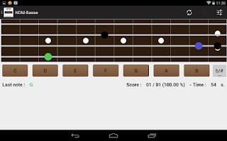 Screenshot of NDM-Basse (Music Notes)