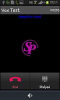Screenshot of Spice Dialer