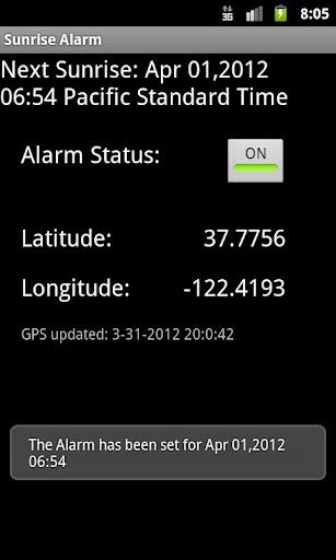 Sunrise Alarm