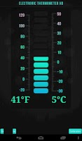 Screenshot of Electronic Thermometer HD