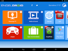Screenshot of Engeldroid