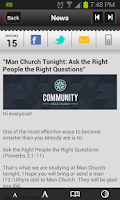 Screenshot of Community Bible Church