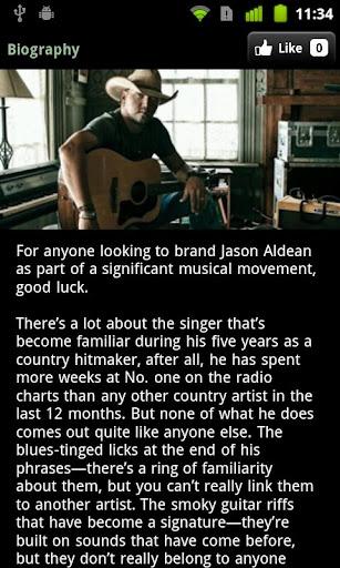 【免費音樂App】Jason Aldean-APP點子