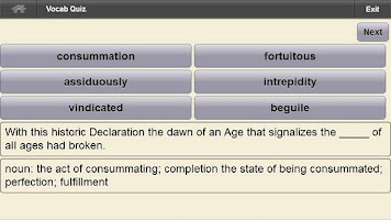 Screenshot of Bahai Study Tool