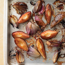 Caramelized Pears and Red Onions