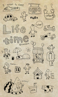 Screenshot of Life time go launcher theme