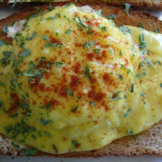 Curried Eggs on Toast