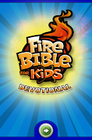 Screenshot of Fire Bible for Kids Devotional