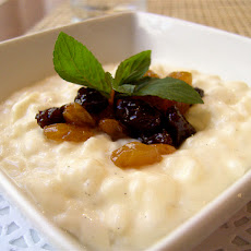 Rice Pudding (Made With Coconut Milk)