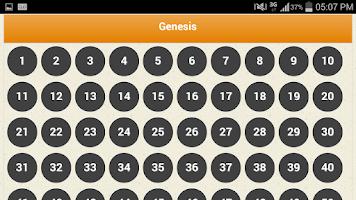 Screenshot of American Standard Bible