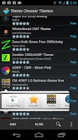 Screenshot of Theme Chooser Themes