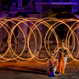 Wayang - Light paint  by Esther Pupung - News & Events Entertainment