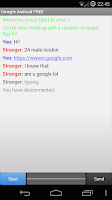 Screenshot of Omegle Android