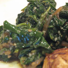Sauteed Spinach With Sesame - Korean